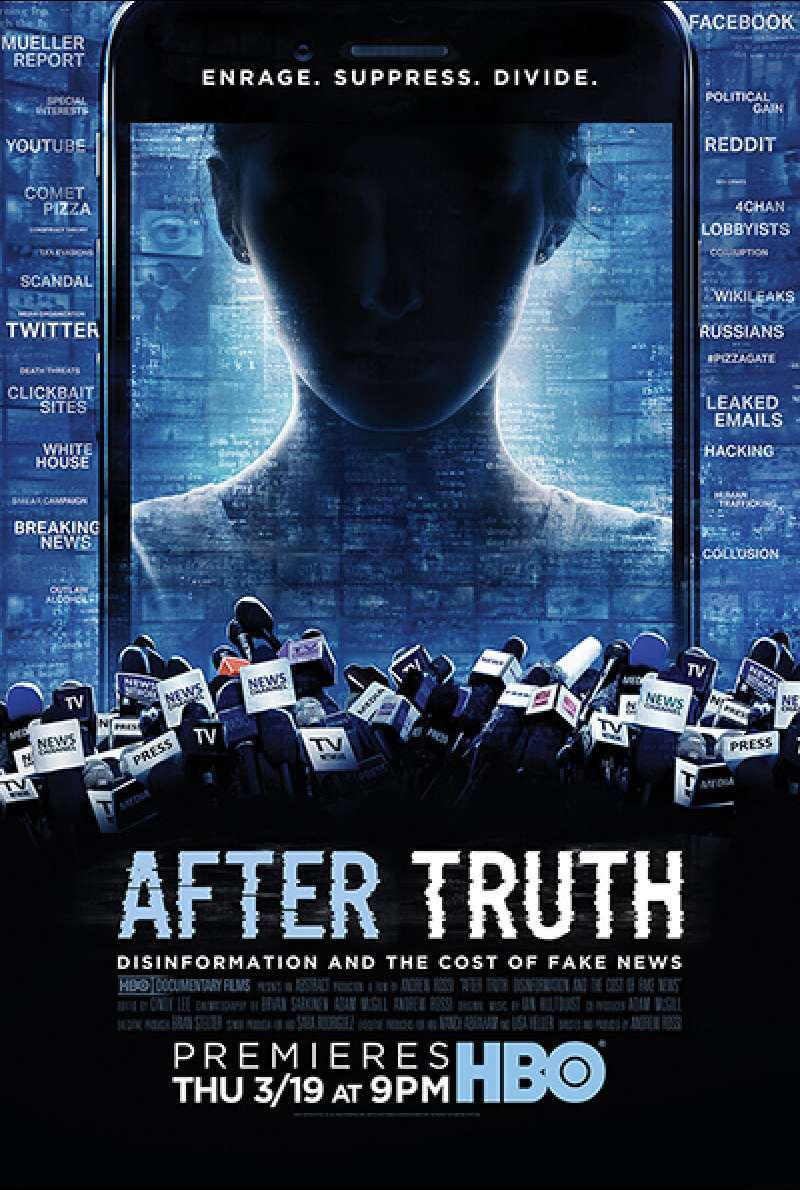 Filmstill zu After Truth: Disinformation and the Cost of Fake News (2020) von Andrew Rossi