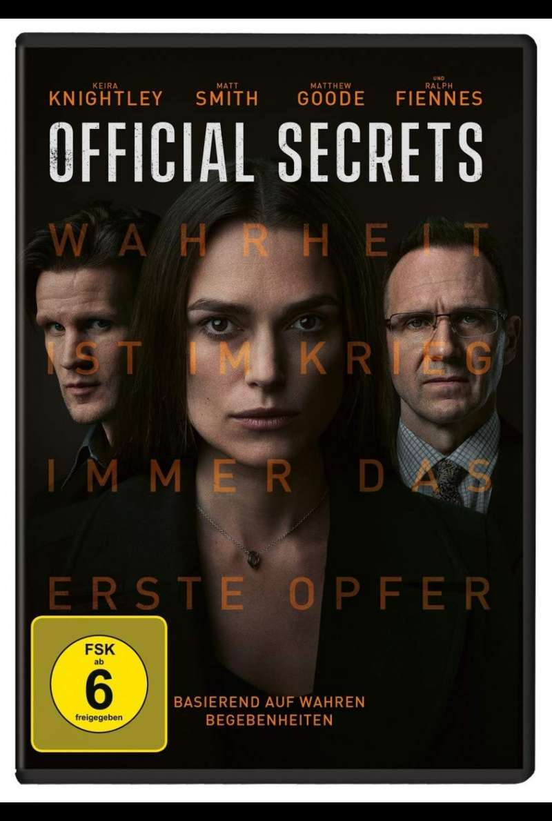 Official Secrets - DVD-Cover