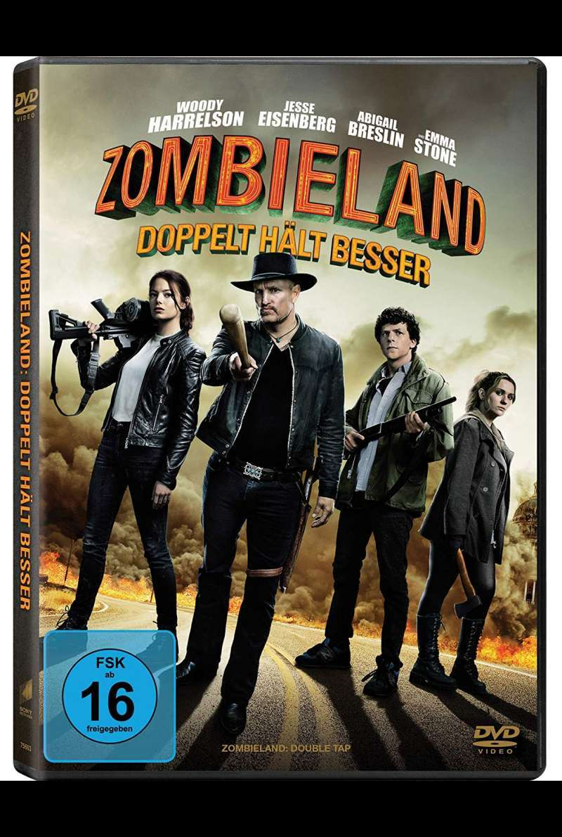 Zombieland 2 - DVD-Cover