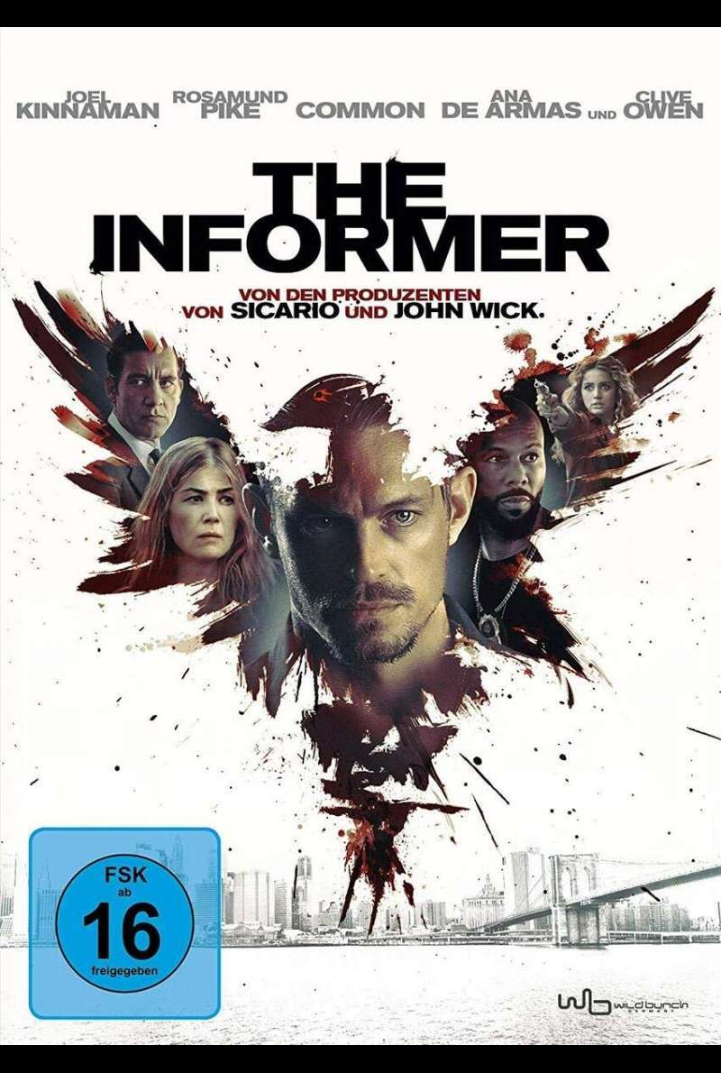 The Informer - DVD-Cover