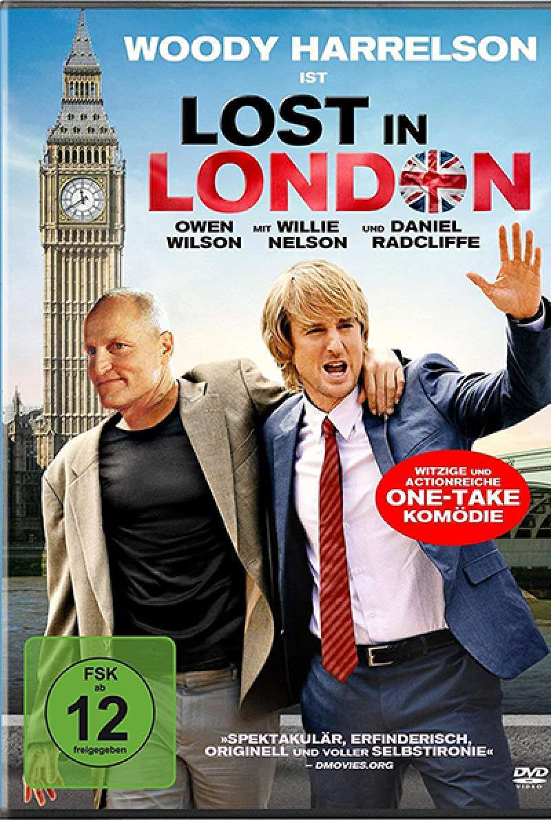 Filmstill zu Lost in London (2017) von Woody Harrelson