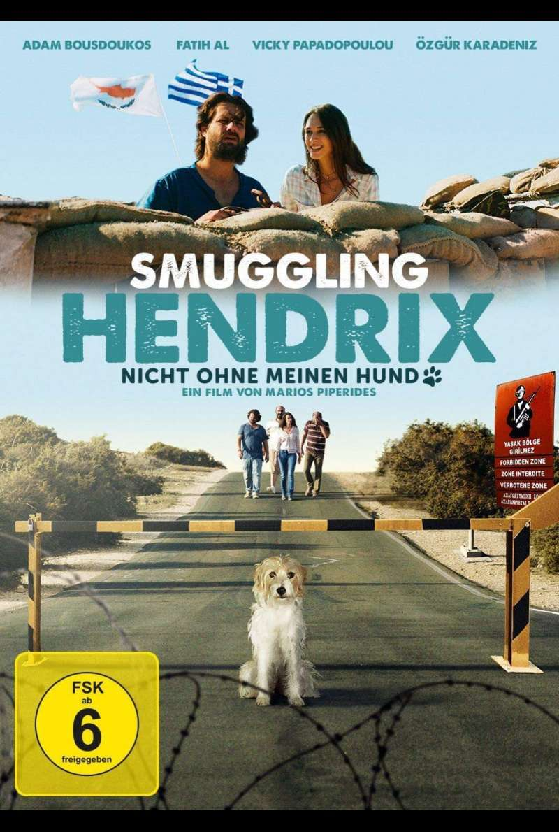 Smuggling Hendrix - DVD-Cover