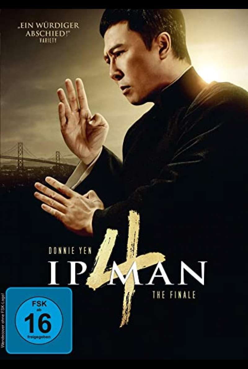 Ip Man 4 - DVD-Cover