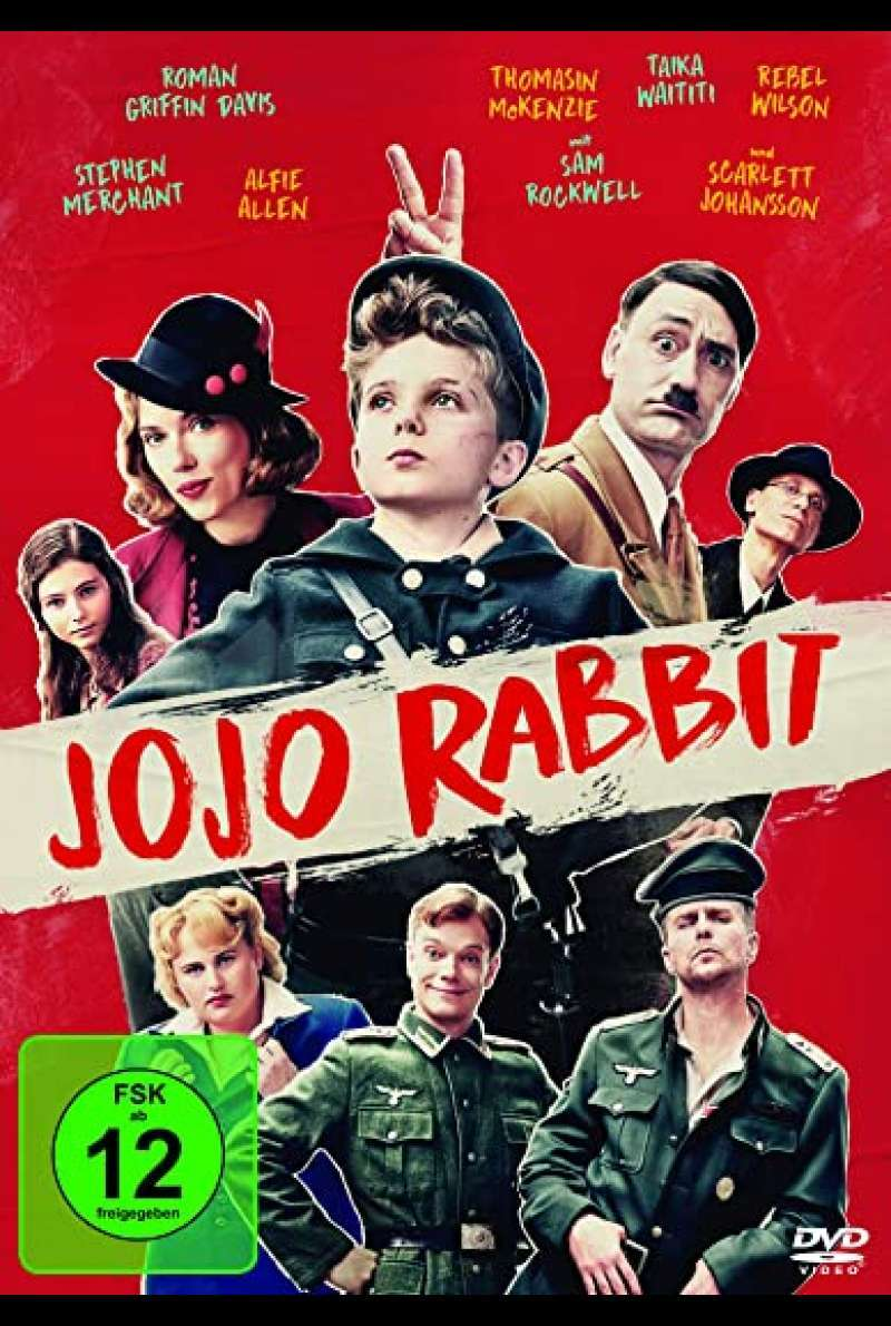 Jojo Rabbit - DVD-Cover