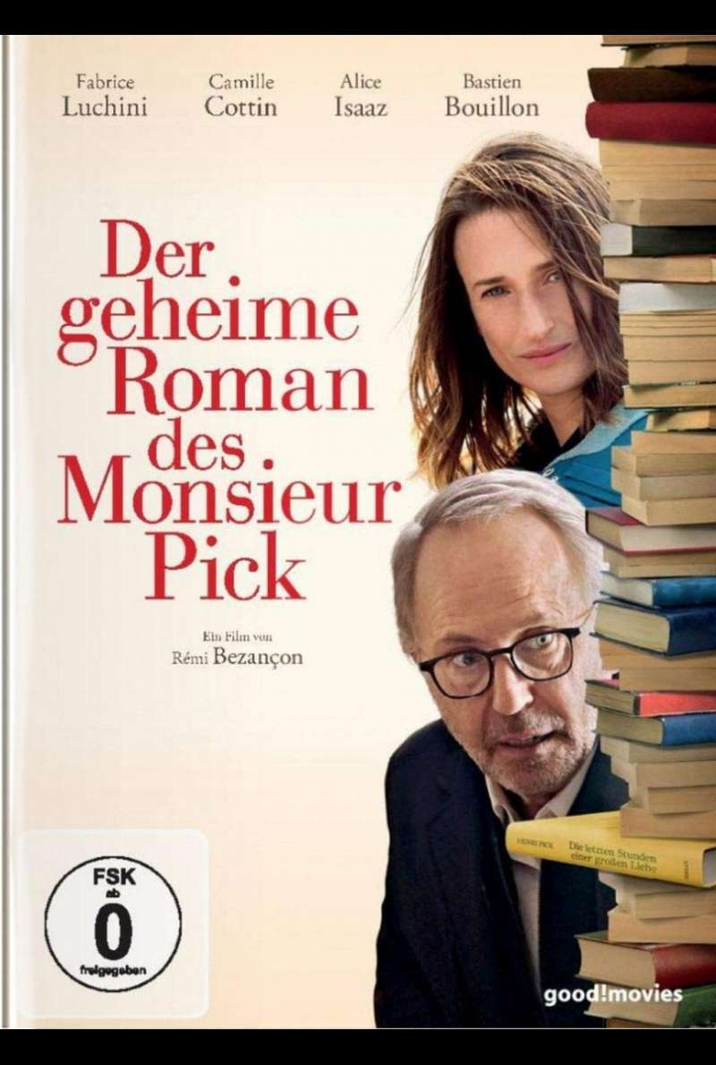 Der geheime Roman des Monsieur Pick - DVD-Cover