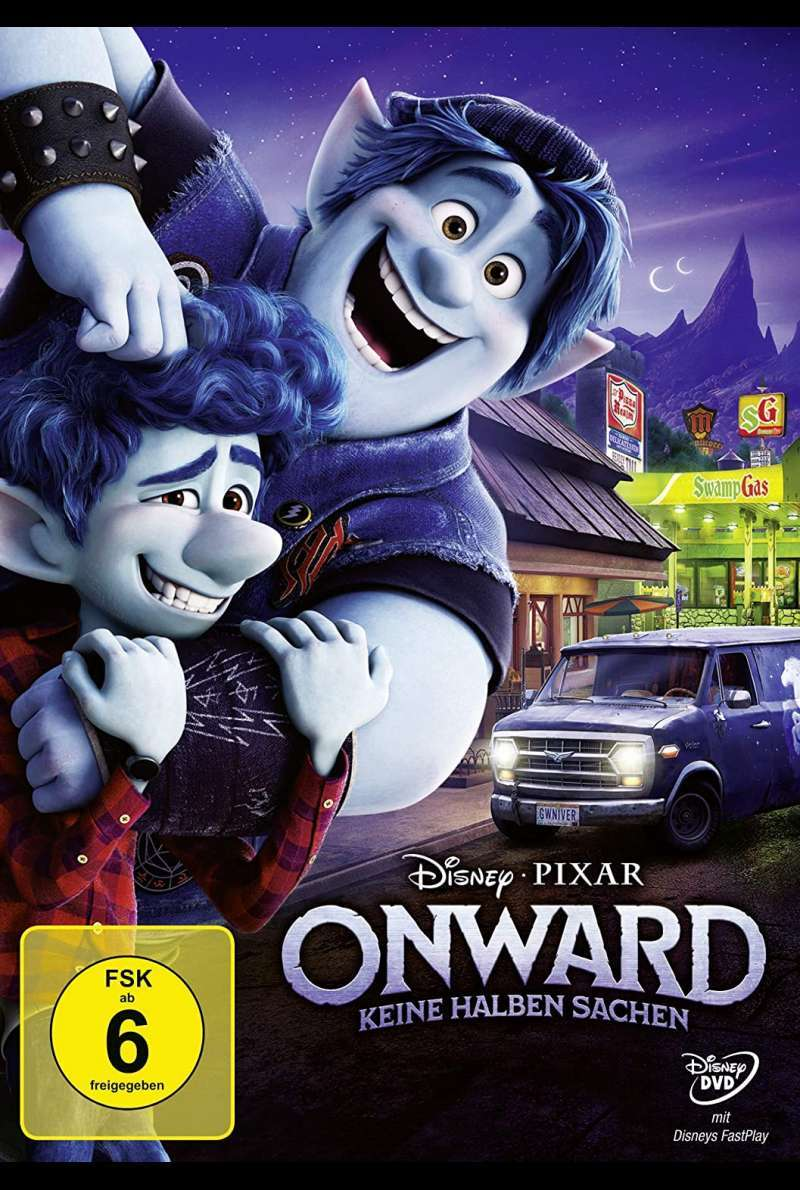 Onward - DVD-Cover
