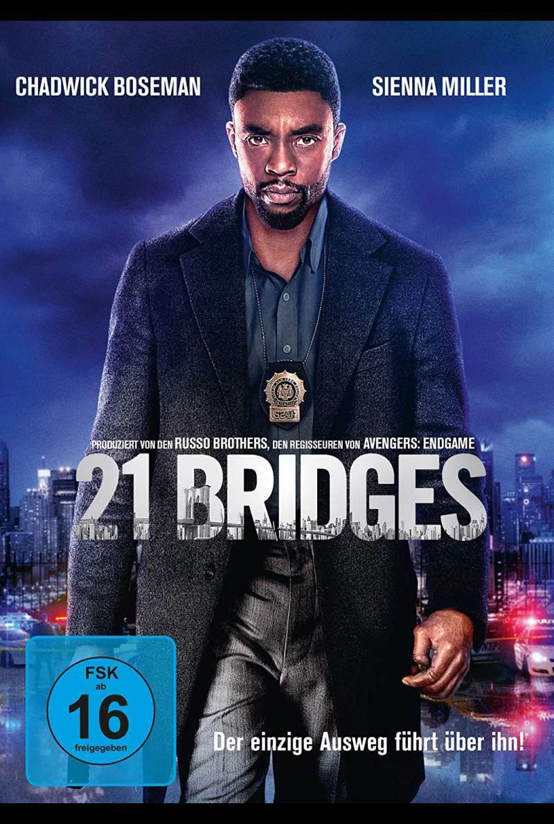 21 Bridges - DVD-Cover