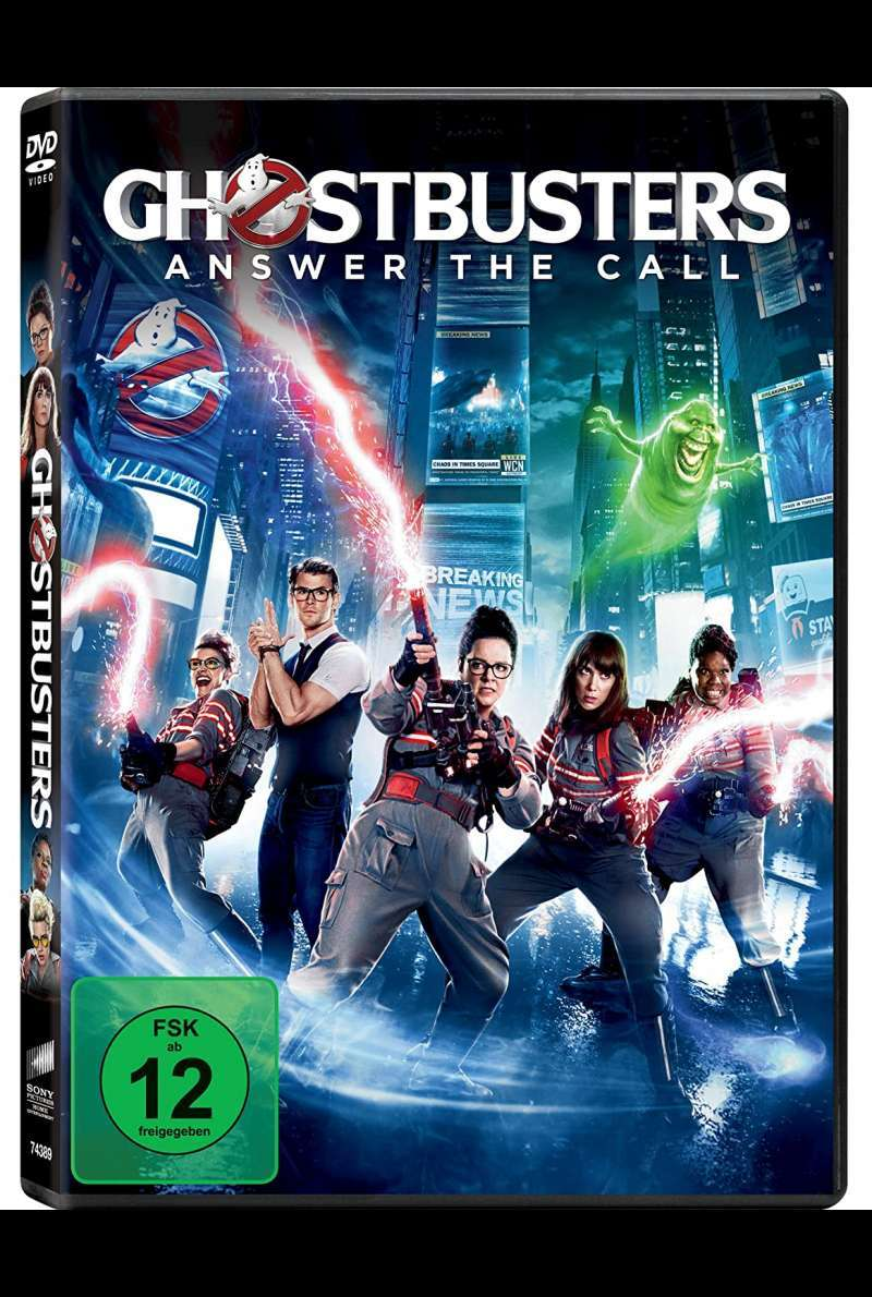 Ghostbusters - DVD-Cover