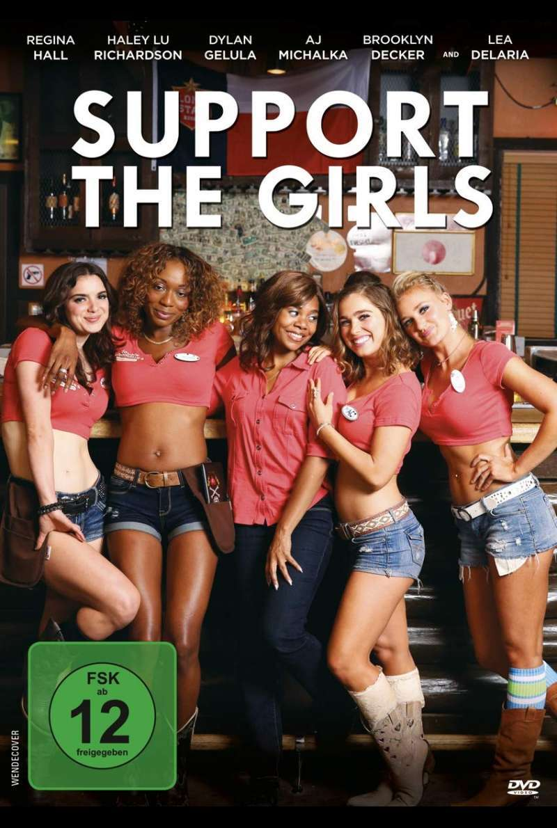 Support the Girls - DVD Cover