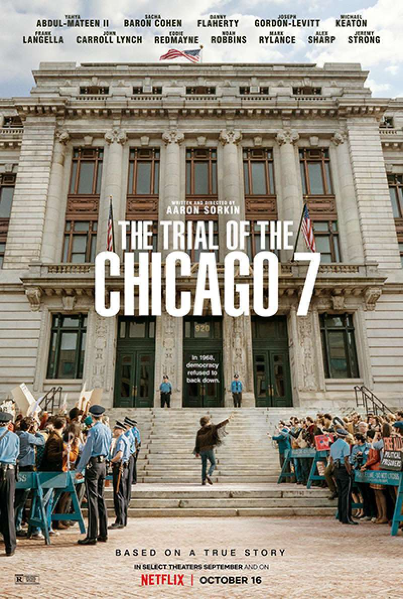 Filmstill zu The Trial of the Chicago 7 (2020) von Aaron Sorkin
