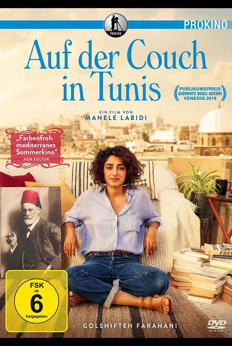 Auf der Couch in Tunis - DVD-Cover