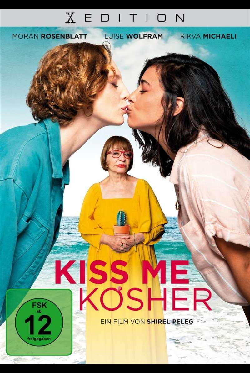 Kiss me Kosher - DVD-Cover