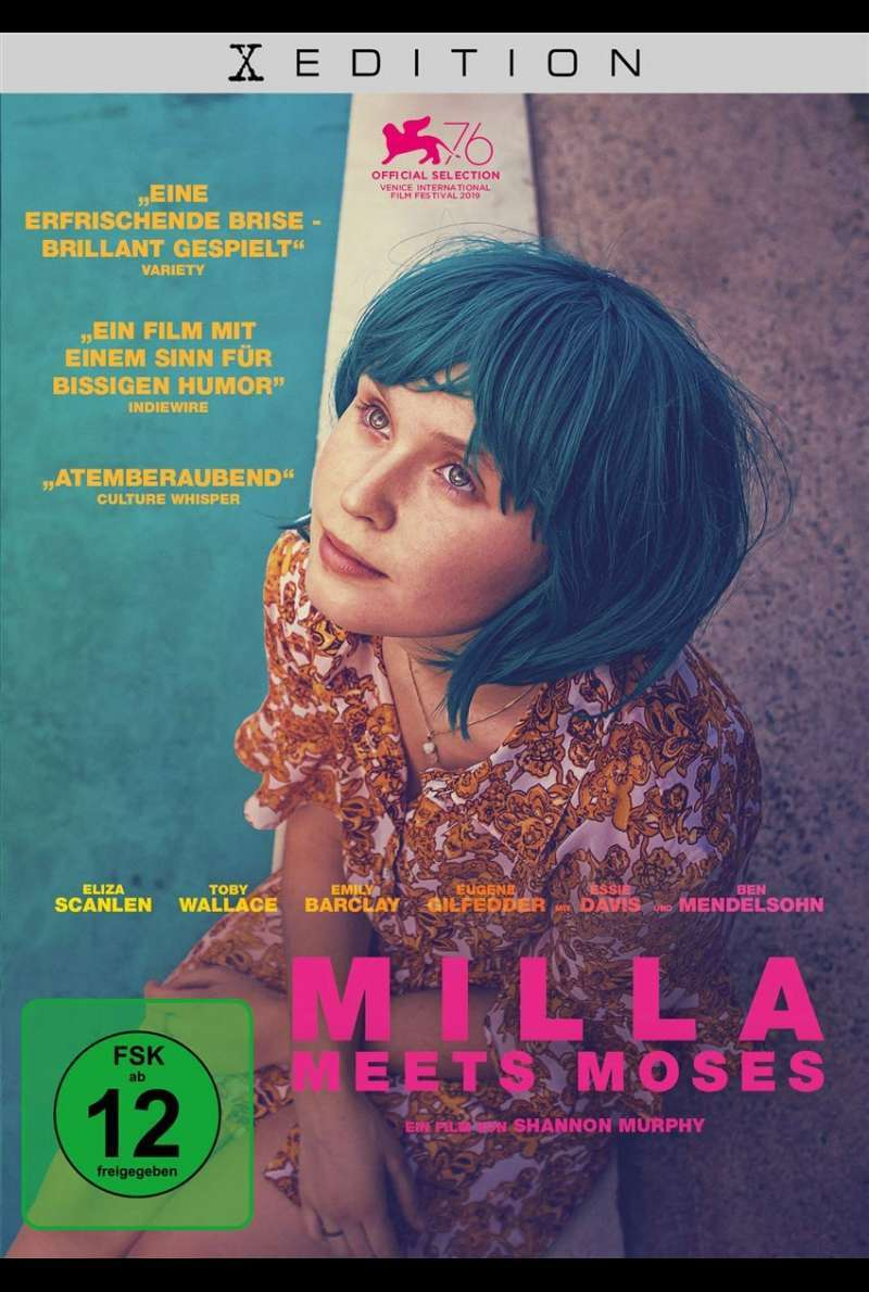 Milla Meets Moses - DVD-Cover
