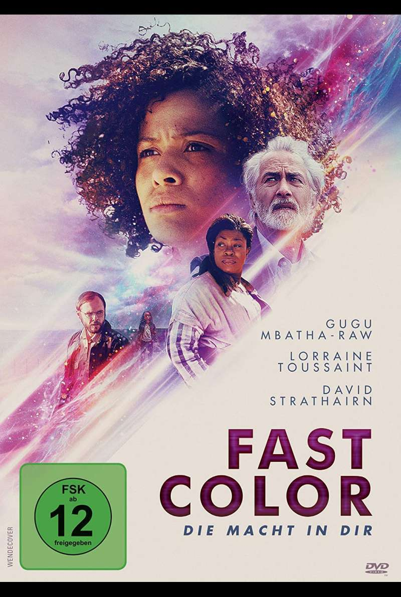 Fast Color - DVD-Cover