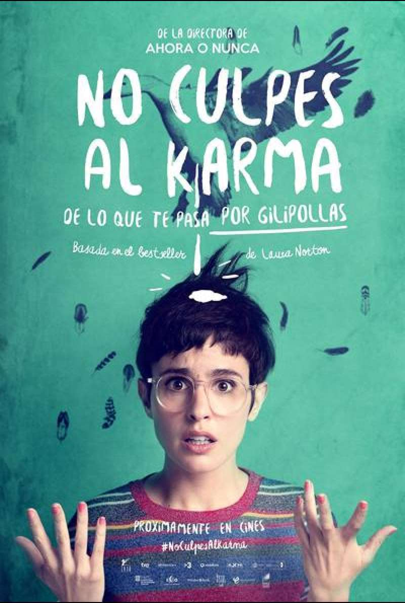 Don't Blame the Kharma What Happens to You by Asshole von Maria Ripoll - Filmplakat