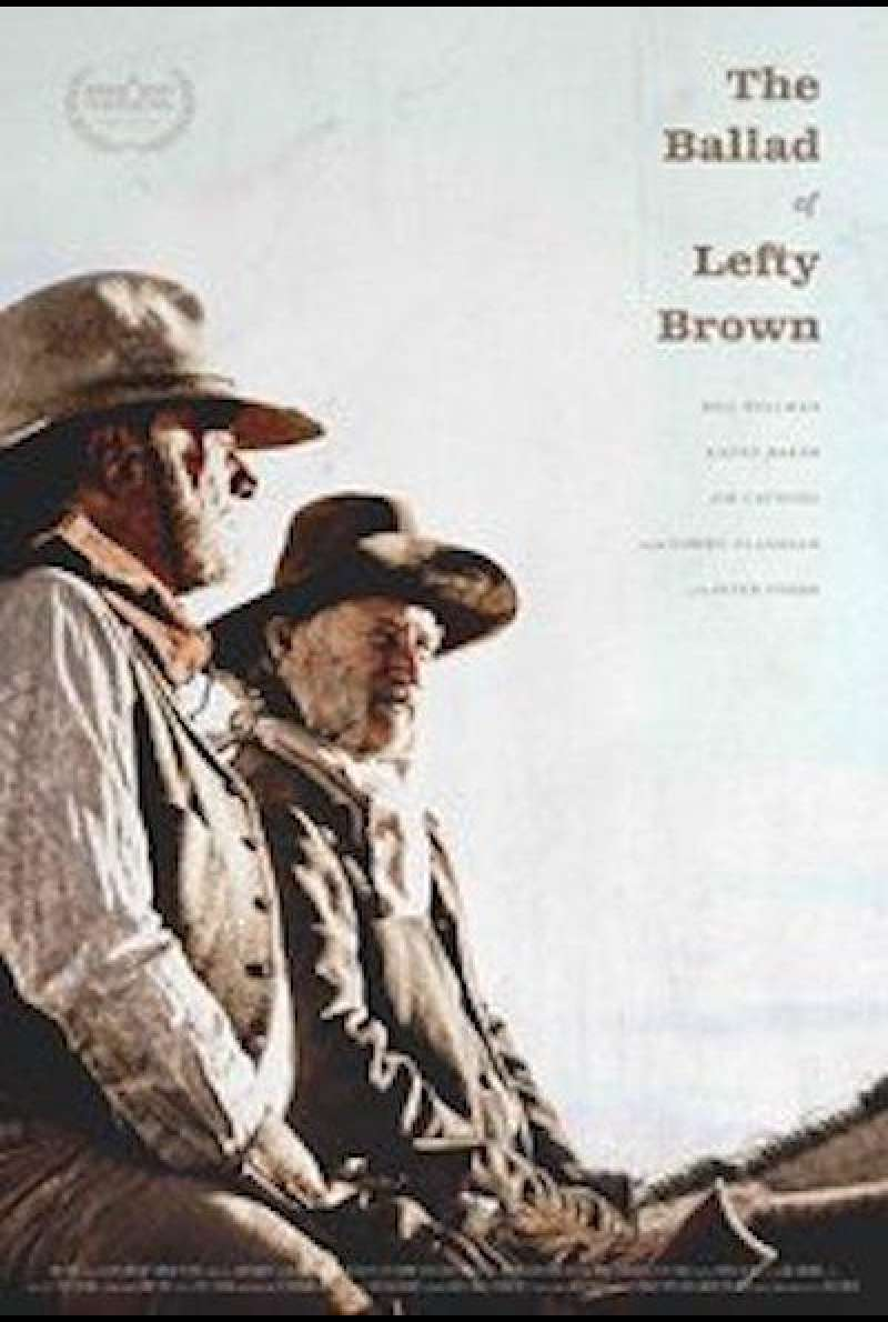 The Ballad of Lefty Brown - Filmplakat