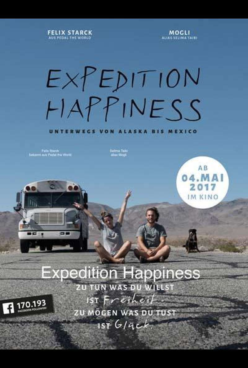 Expedition Happiness - Filmplakat