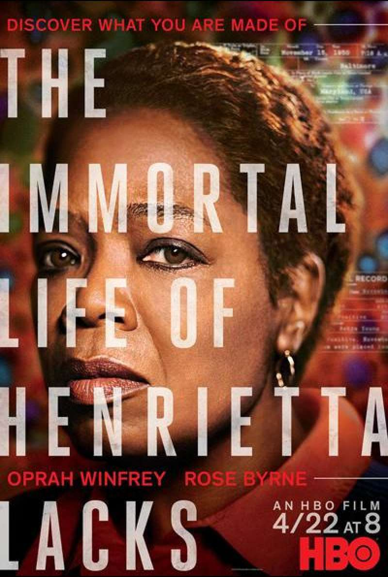 The Immortal Life of Henrietta Lacks  von George C. Wolfe - Filmplakat