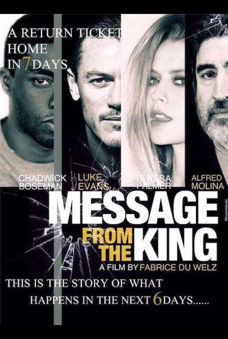 Message from the King von Fabrice Du Welz - Filmplakat