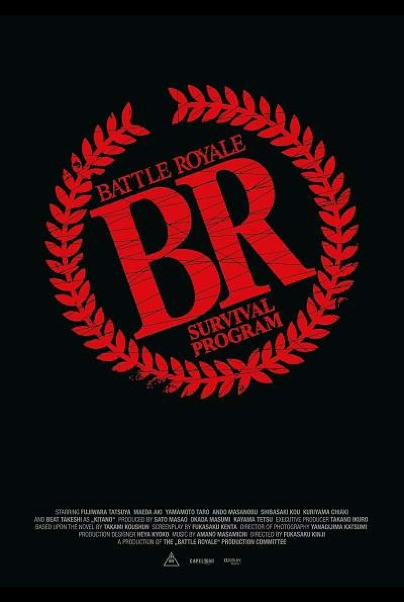 Battle Royale - Filmplakat (INT)