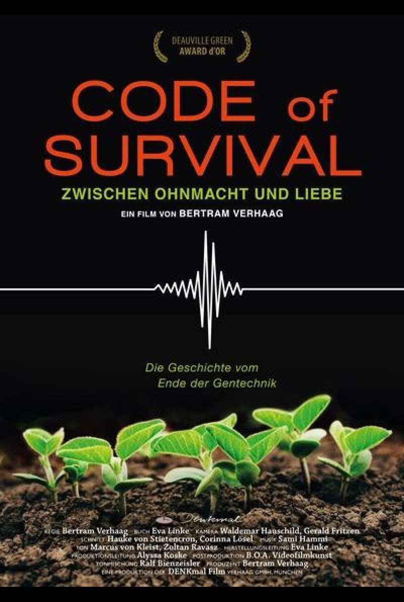 Code of Survival - Filmplakat