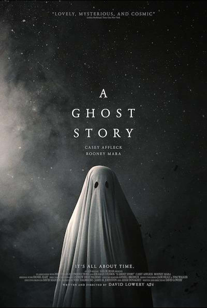 A Ghost Story von David Lowery - Filmplakat