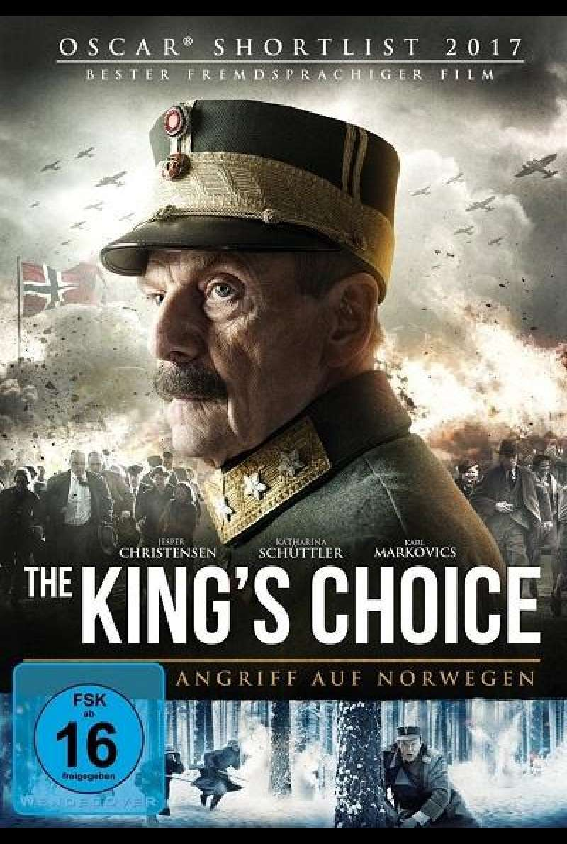 The King's Choice - Angriff auf Norwegen - DVD-Cover