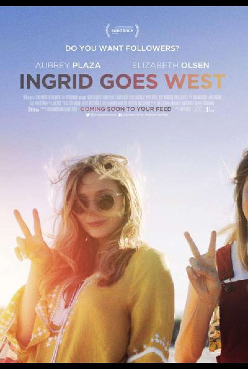 Ingrid Goes West von Matt Spicer - Filmplakat