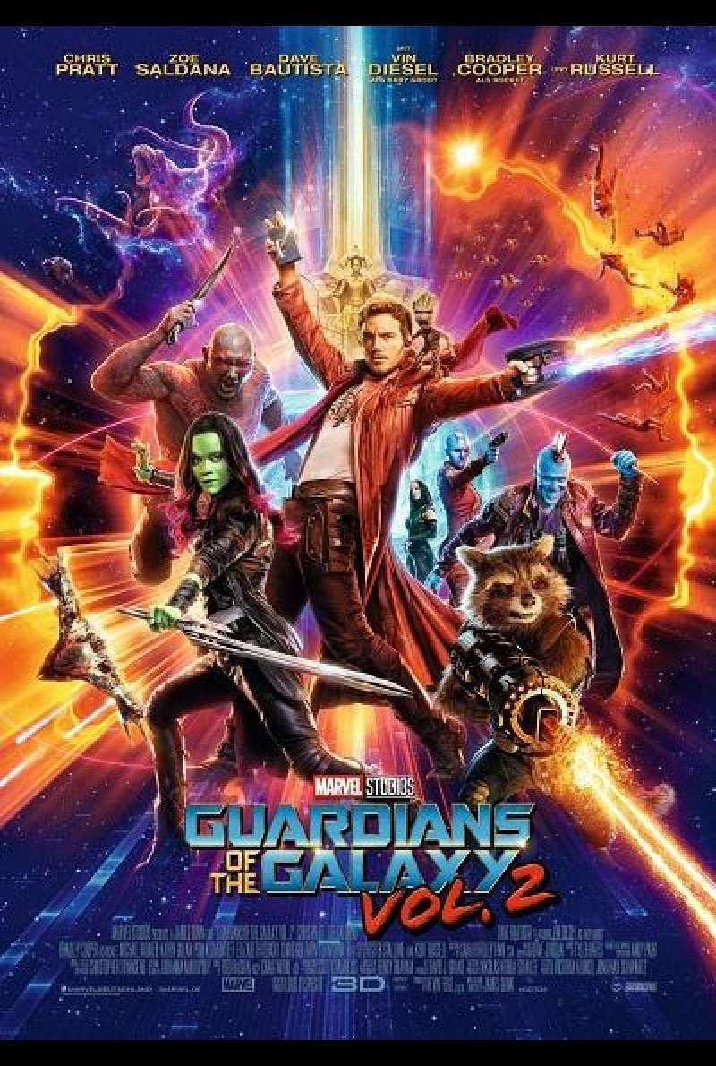 Guardians of the Galaxy Vol. 2 - Filmplakat
