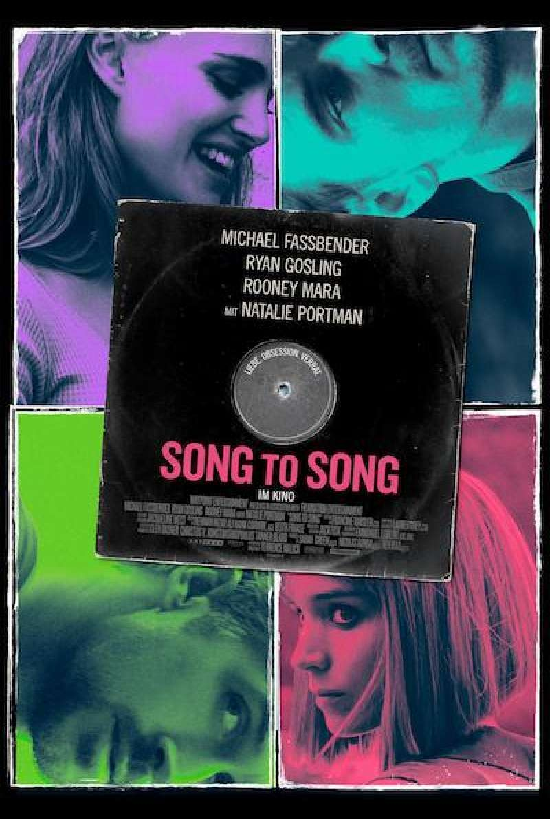 Song to Song von Terrence Malick - Filmplakat