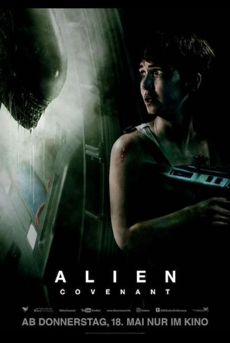 Alien: Covenant von Ridley Scott - Filmplakat