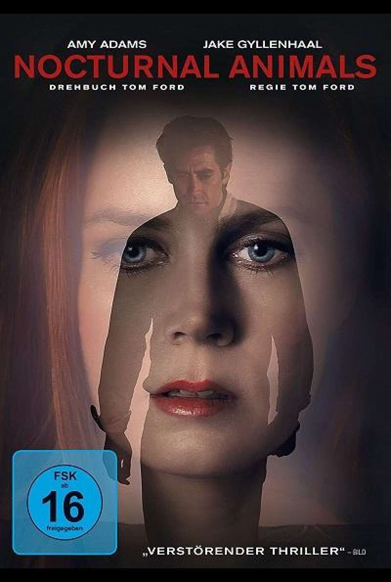 Nocturnal Animals - DVD-Cover
