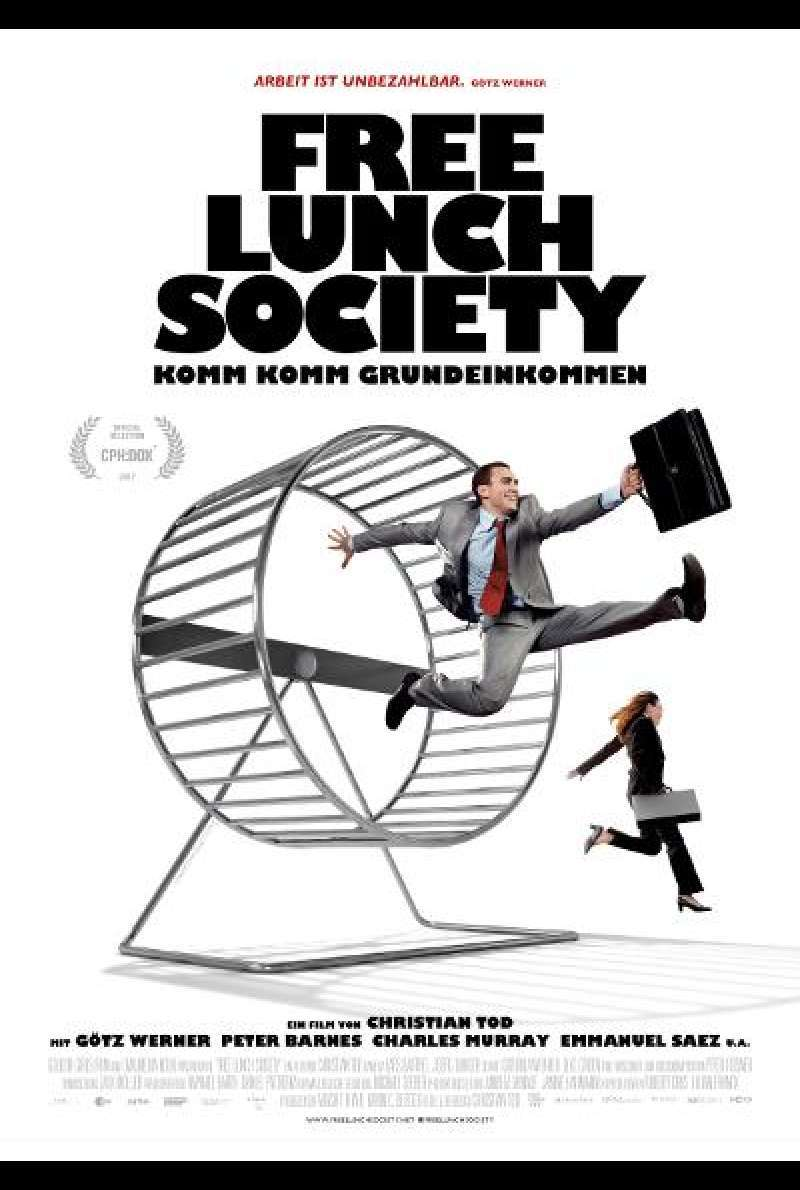 Free Lunch Society von Christian Tod - Filmplakat