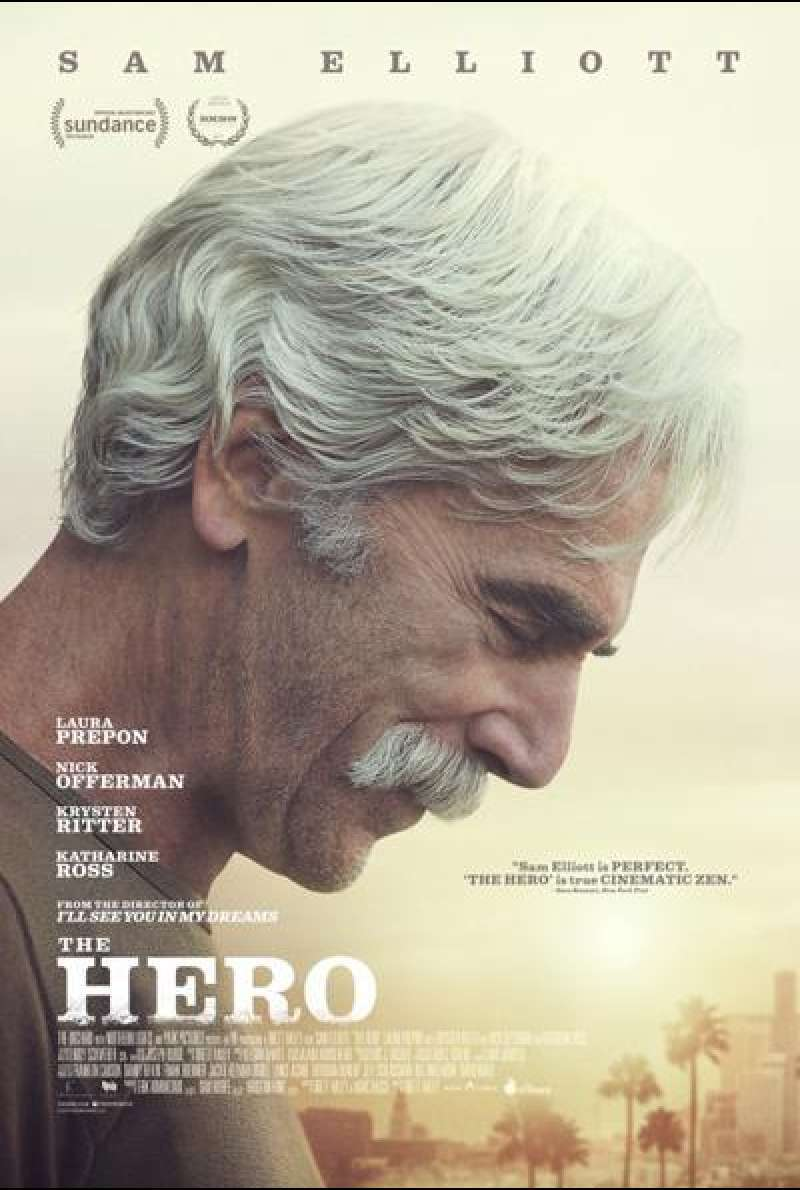 The Hero von Brett Haley - Filmplakat