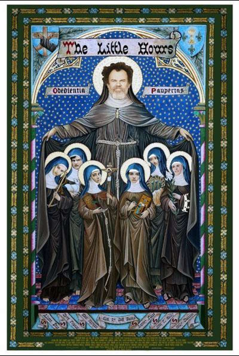 The Little Hours von Jeff Baena - Filmplakat