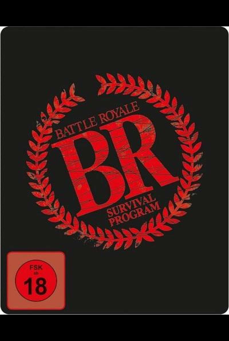 Battle Royale (Uncut) - Limited Steelbook - Blu-ray-Cover