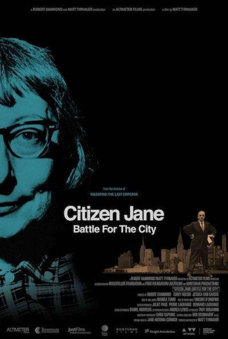 Citizen Jane - Battle for the City - Filmplakat (INT)