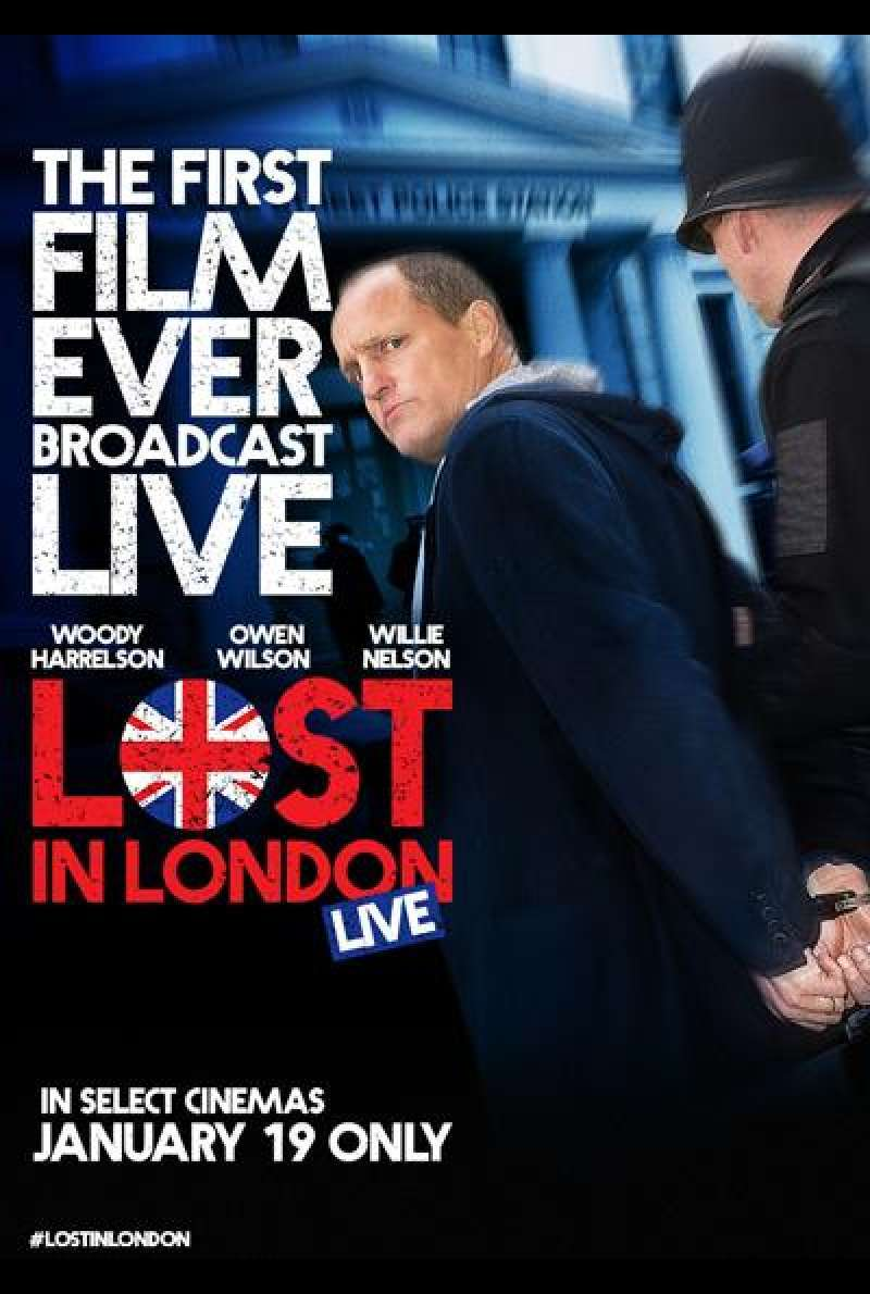 Lost in London von Woody Harrelson - Filmplakat