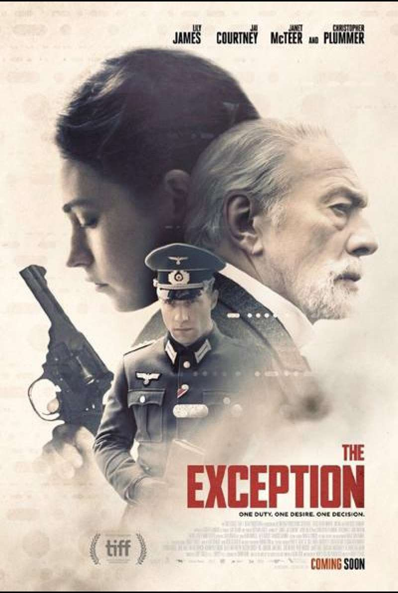 The Exception von David Leveaux - Filmplakat
