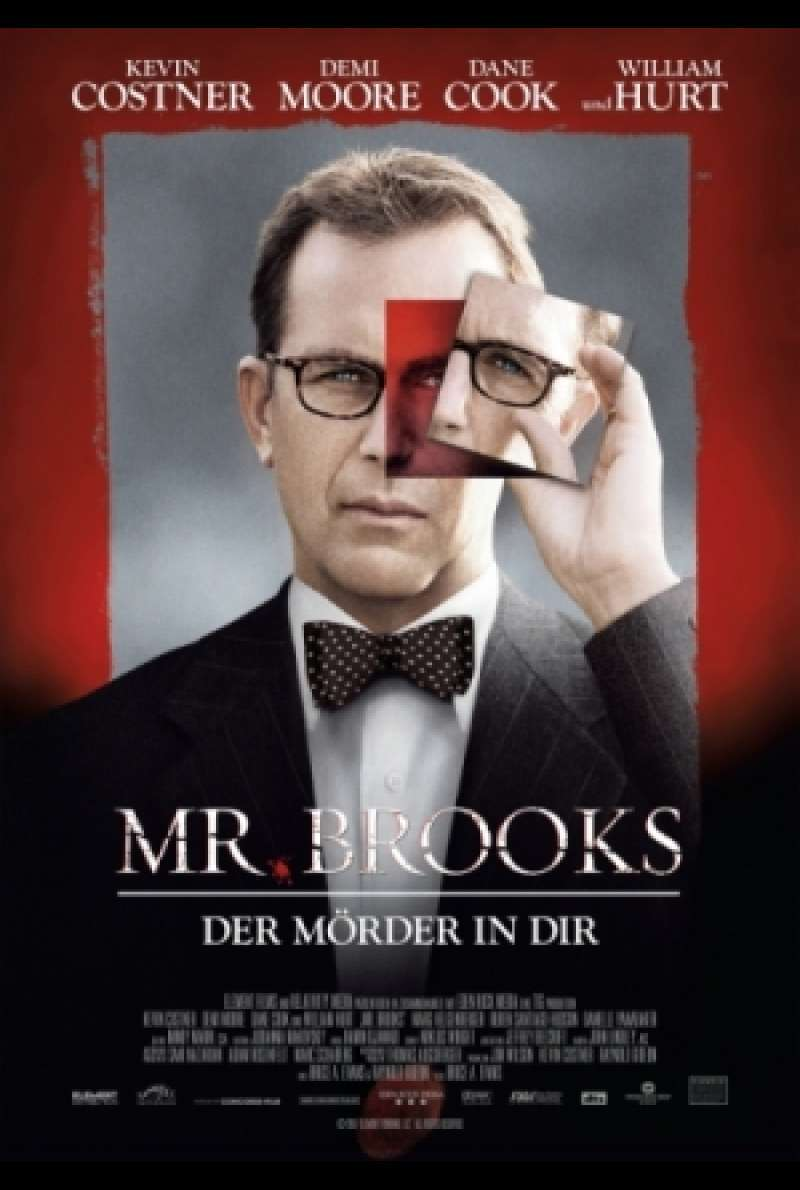 Mr. Brooks – Der Mörder in Dir - Filmplakat