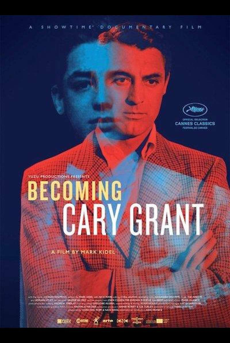 Becoming Cary Grant - Filmplakat