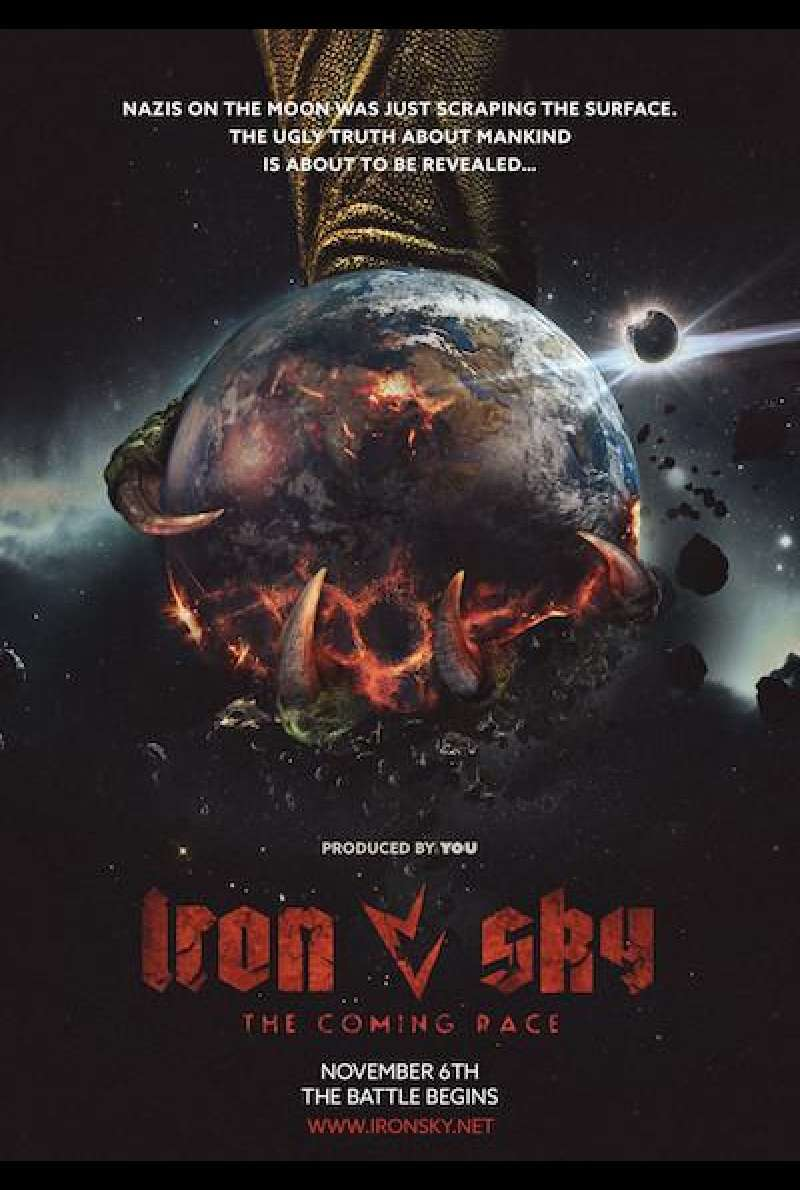 Iron Sky 2: The Coming Race - Teaserplakat (INT)