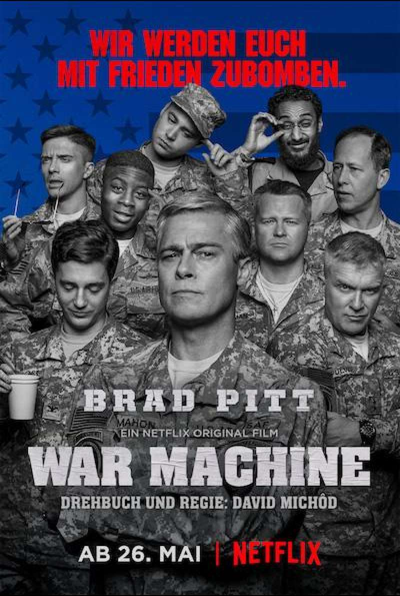 War Machine - Filmplakat