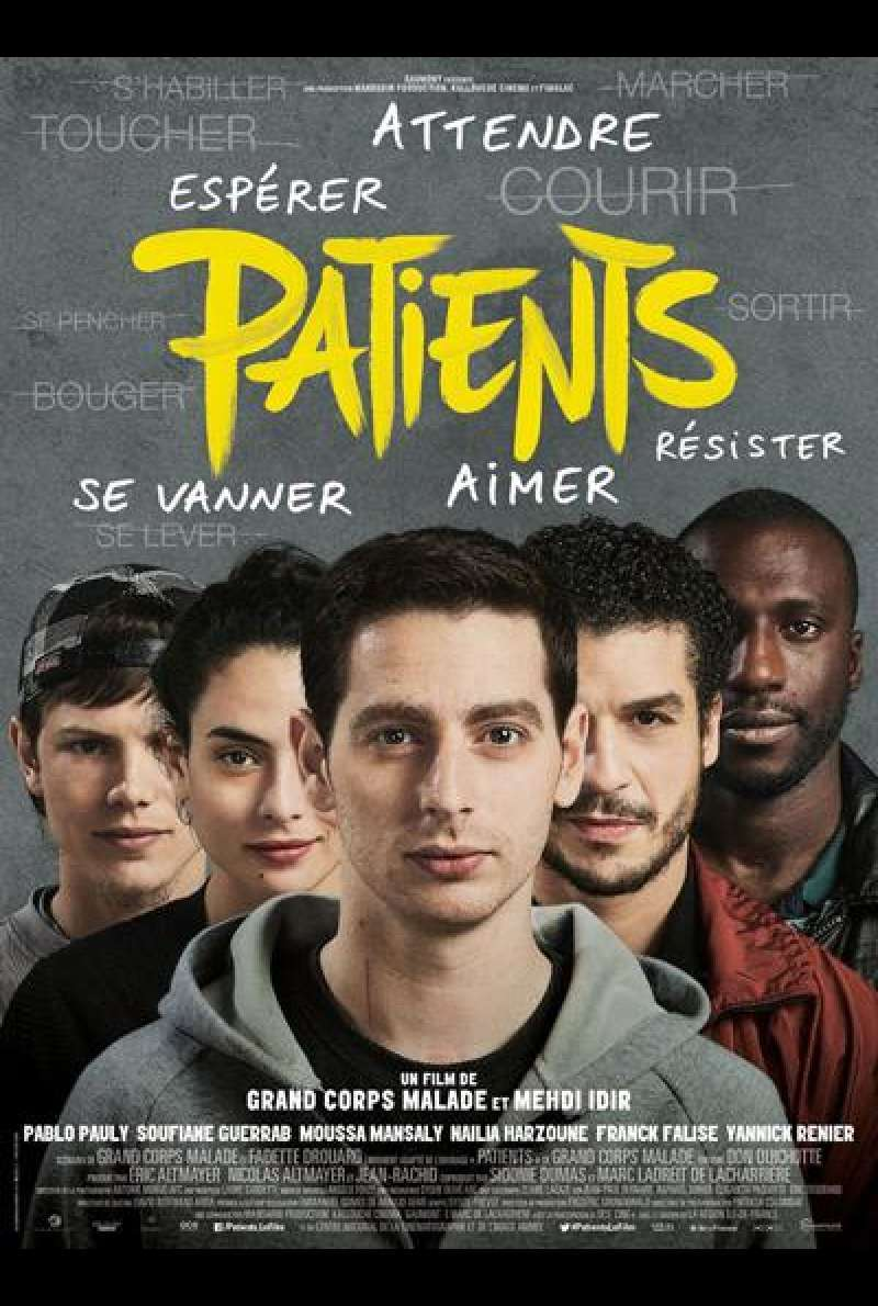 Patients von Grand Corps Malade, Mehdi Idir - Filmplakat