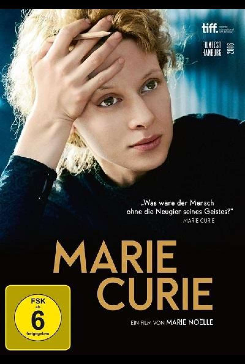 Marie Curie - DVD-Cover