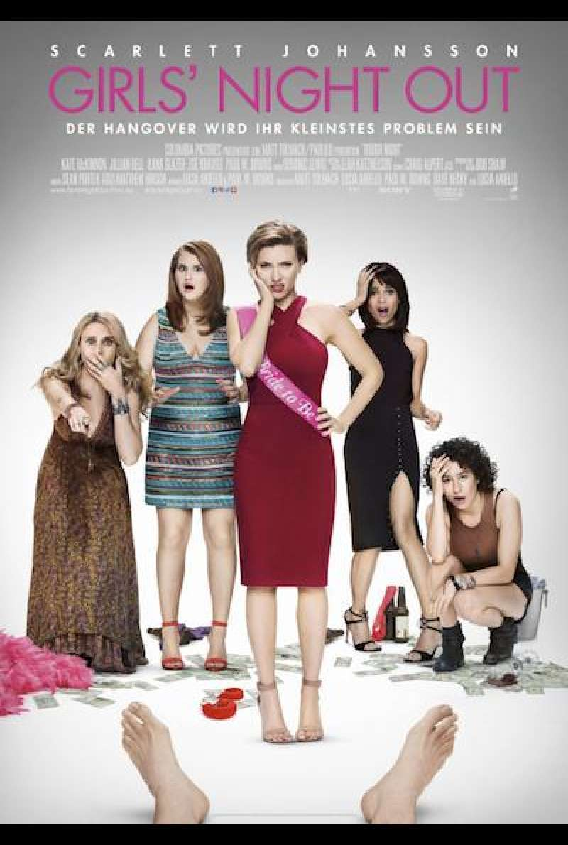 Girls' Night Out von Lucia Aniello - Filmplakat