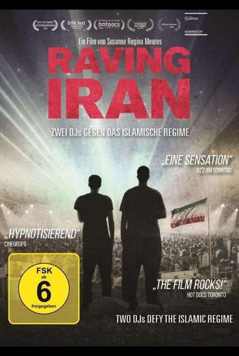 Raving Iran - DVD-Cover