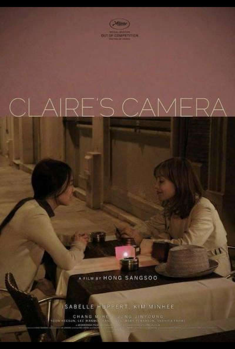 Claire's Camera - Filmplakat