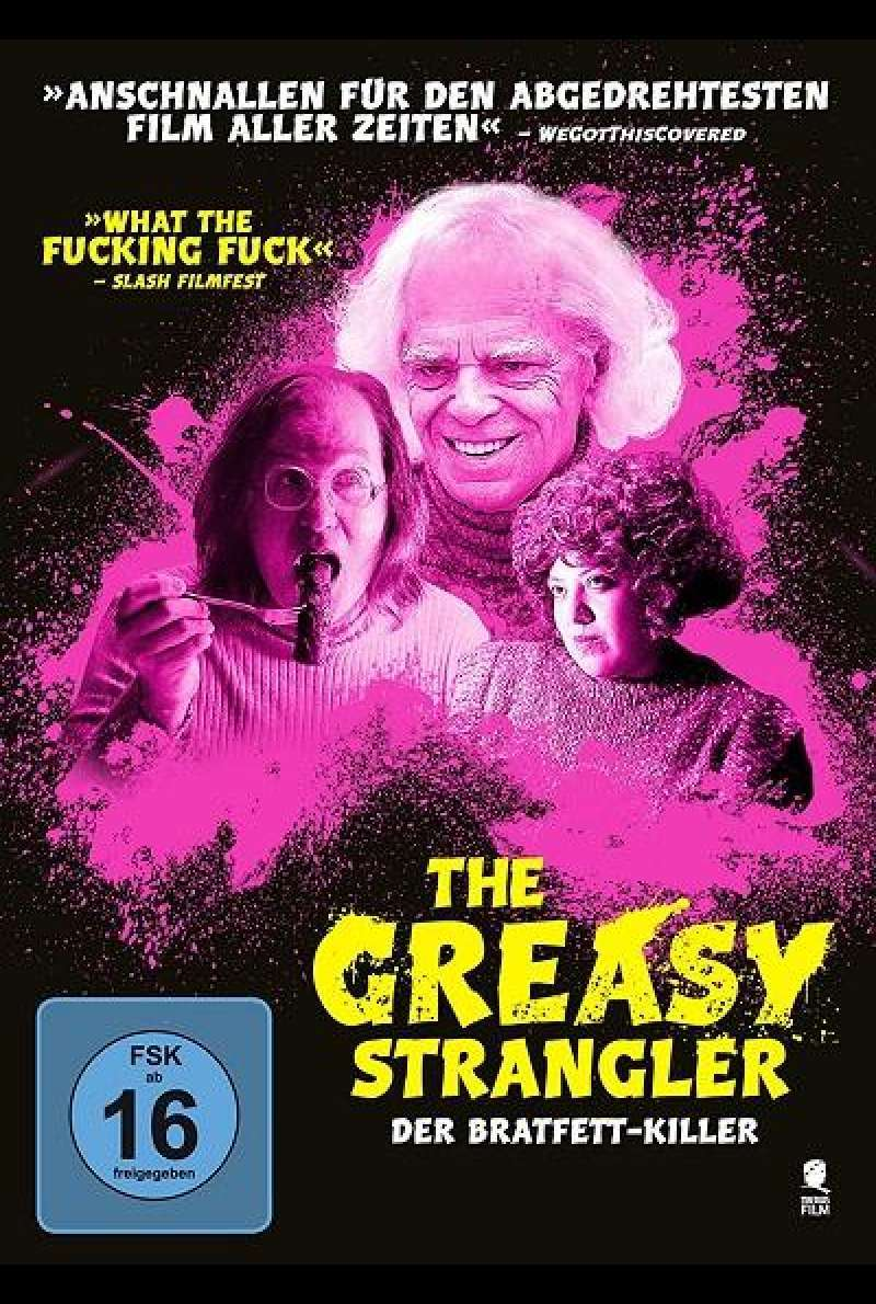 The Greasy Strangler - Der Bratfett-Killer - DVD-Cover