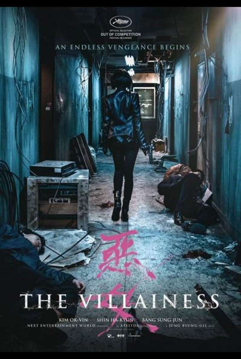 The Villainess von Byung-gil Jung - Filmplakat